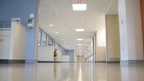 clínicas y hospitales iluminación led