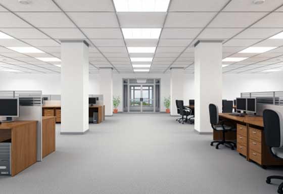 oficinas y despachos iluminación led