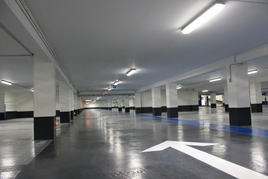 garajes y parkings iluminación led
